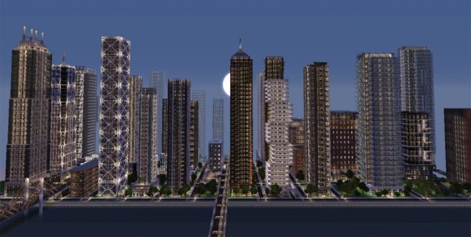 Как сделать город в Майнкрафте