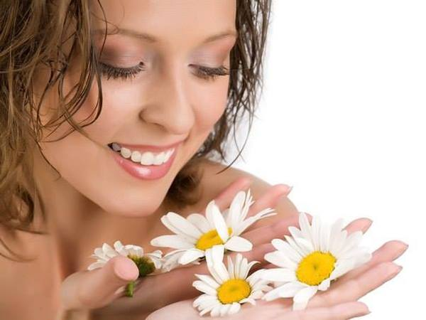 How to get rid of pimples with chamomile