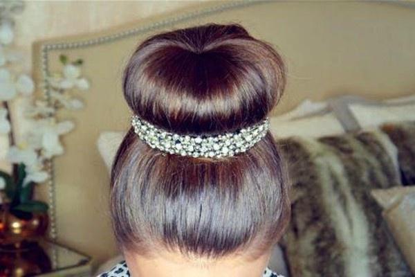 Бублик для волос своими руками