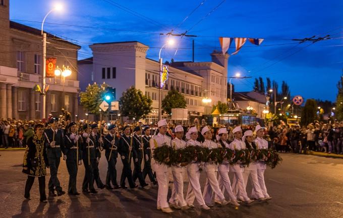 Ежегодное факельное шествие в Керчи