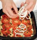 Ладения с томатами и луком