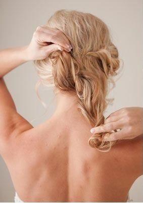 Medium length hair