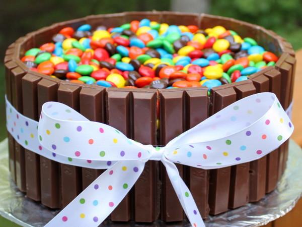 Украшение торта на день рождения ребенка своими руками 32