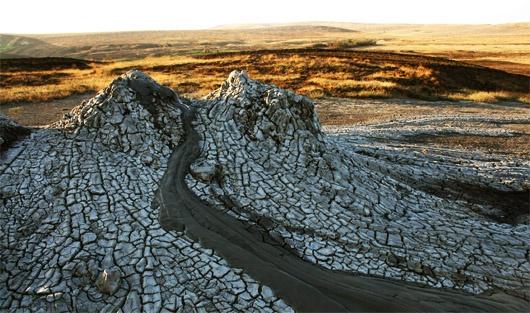 Грязевые вулканы Крыма - Булканак