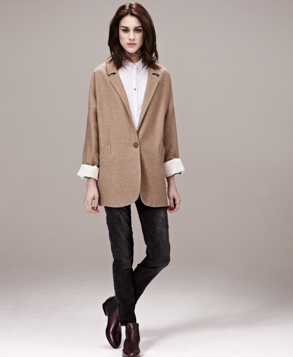 С чем носить коричневый пиджак