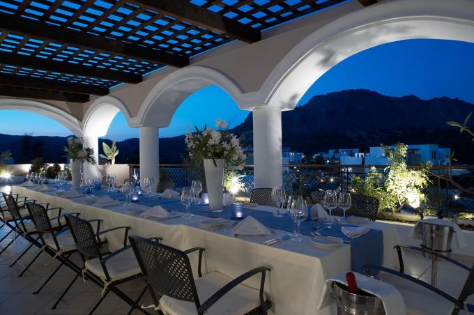 Греческий ресторан: кухня и оформление