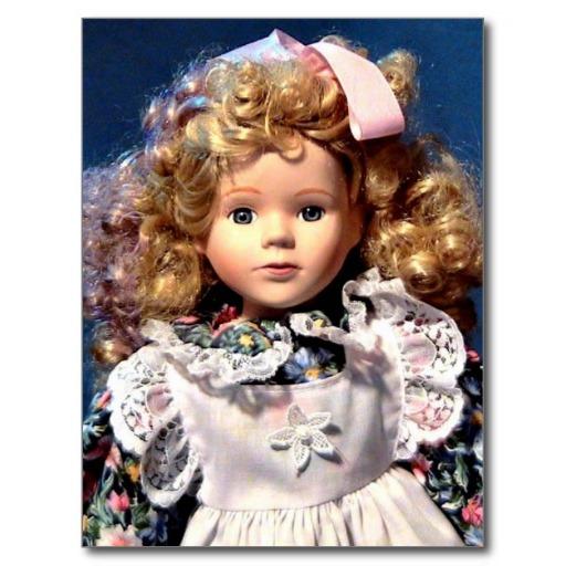 История куклы в России