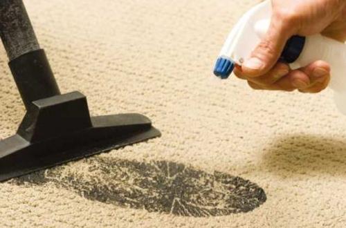 Как почистить ковер содой