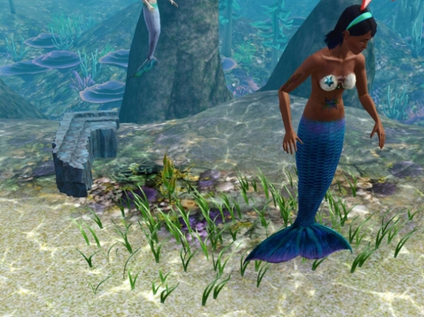 Sims 3 how to become a mermaid