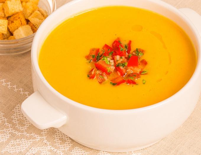 Prepare lentil soup