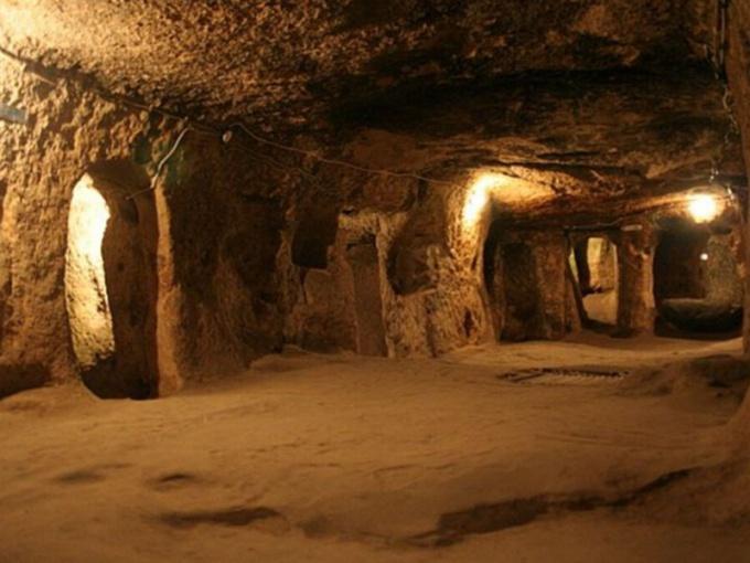 Деринкую - подземный город