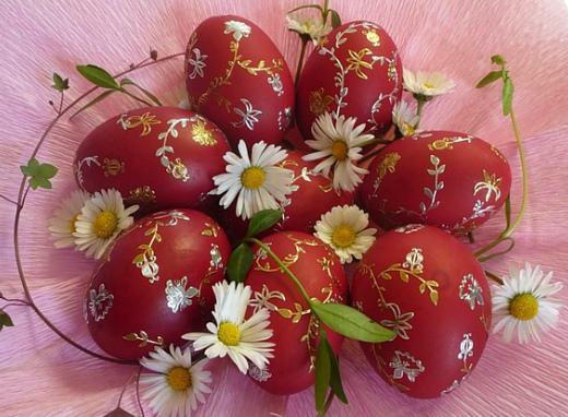 Натуральные красители для пасхальных яиц своими руками
