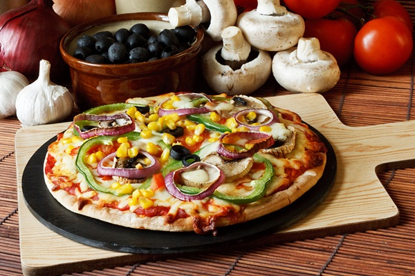 Вегетарианская пицца: рецепт