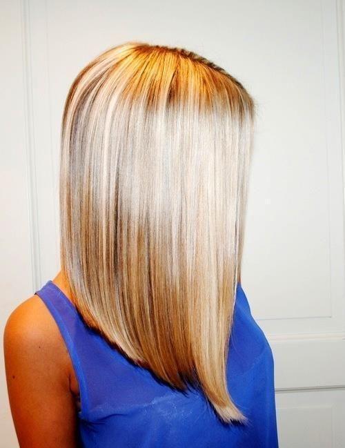 Фото стрижки каре боб на длинные волосы