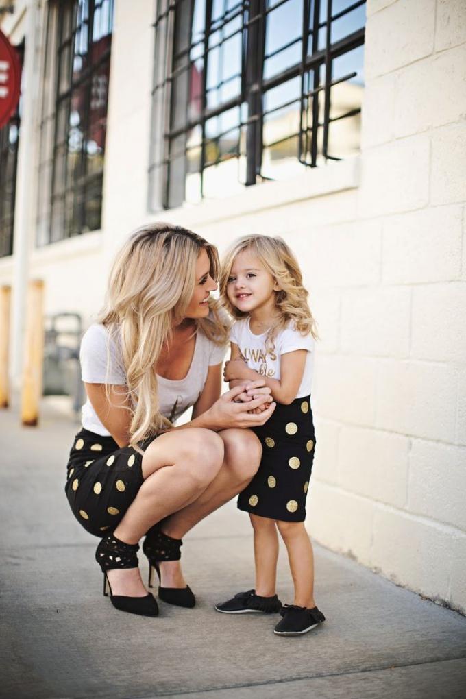 Модные дети и их родите