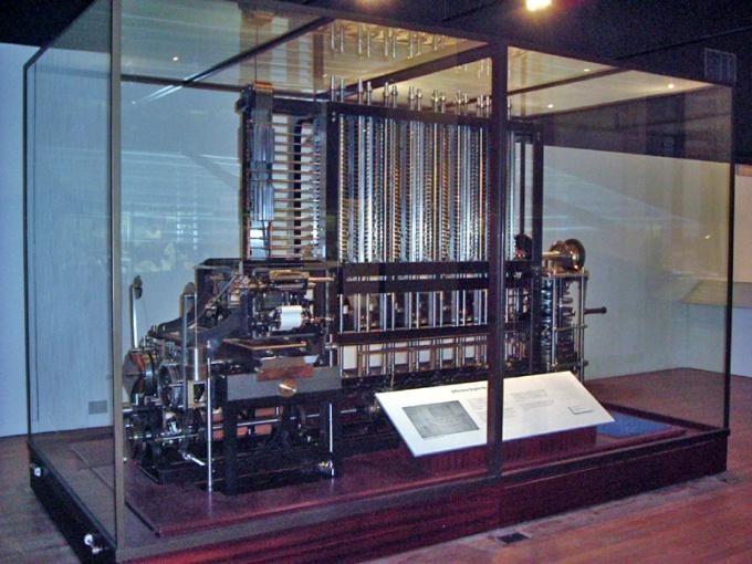 Механический компьютер Беббиджа как прообраз современного ПК