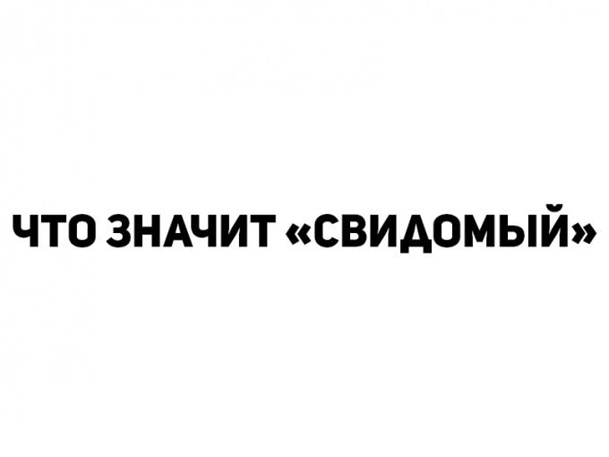 Что значит «свидомый»