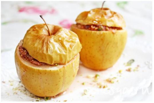 Вкусные запеченные яблоки