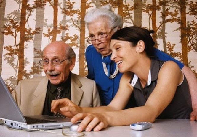 Как обучить пенсионера компьютеру