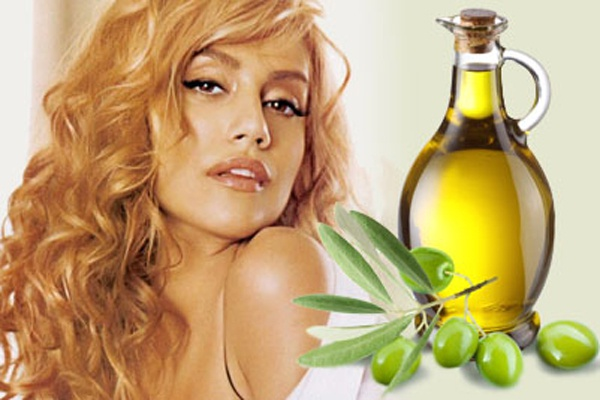 Masks for hair with olive oil