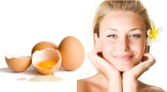 Egg masks for face