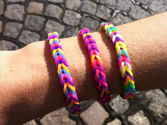 Как сделать браслет из резинок rainbow loom