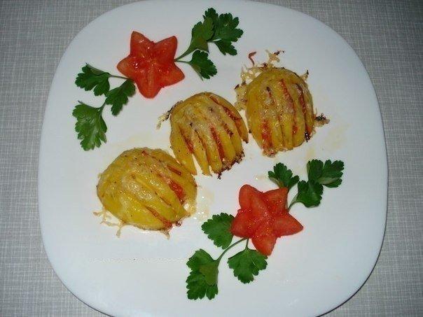 Аппетитные картофельные ракушки