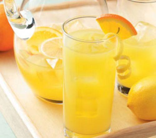 Полезная апельсиновая газировка своими руками