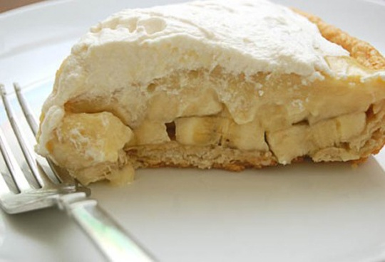 Простой и вкусный банановый пирог