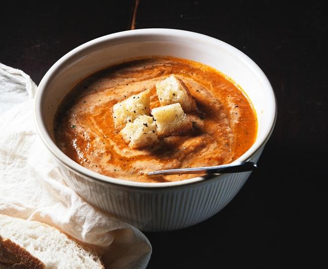 Как приготовить томатный крем-суп