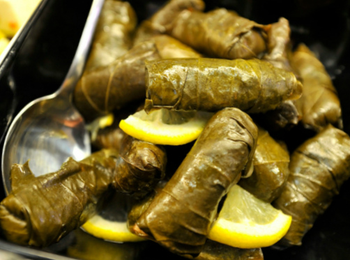 How to prepare grape leaves for the winter