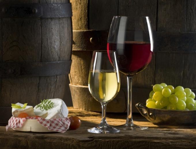 Крепкое вино