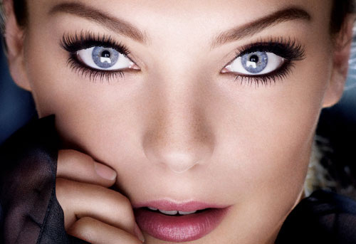 How to make the blue eyes brighter