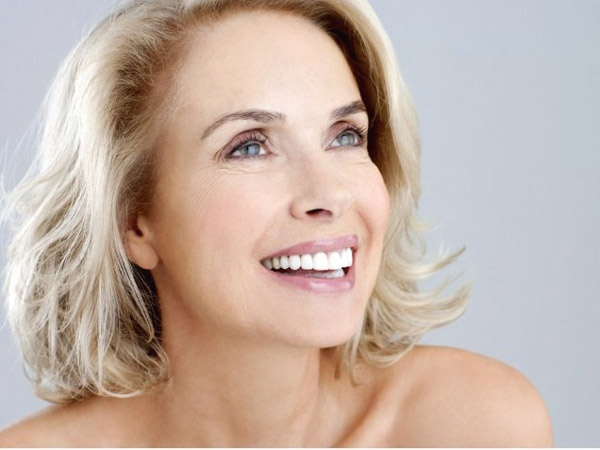 The right make-up for mature women