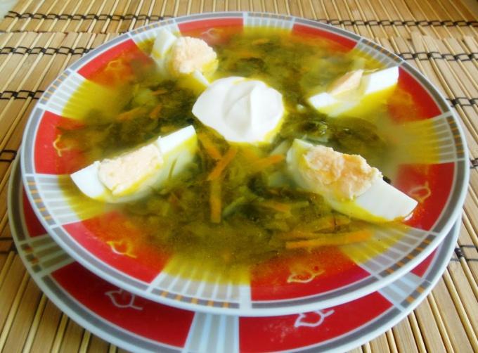 Soup of sorrel