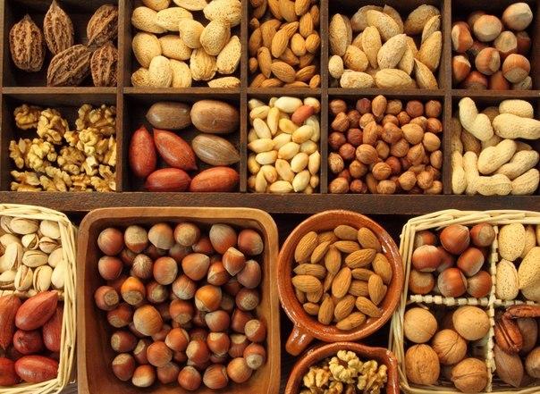 орехи для работы сердца