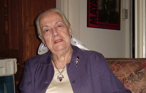 Патрисия Томпсон - дочь Маяковского