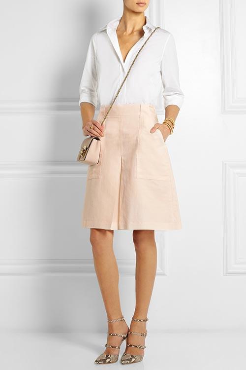 юбка шорты для офиса