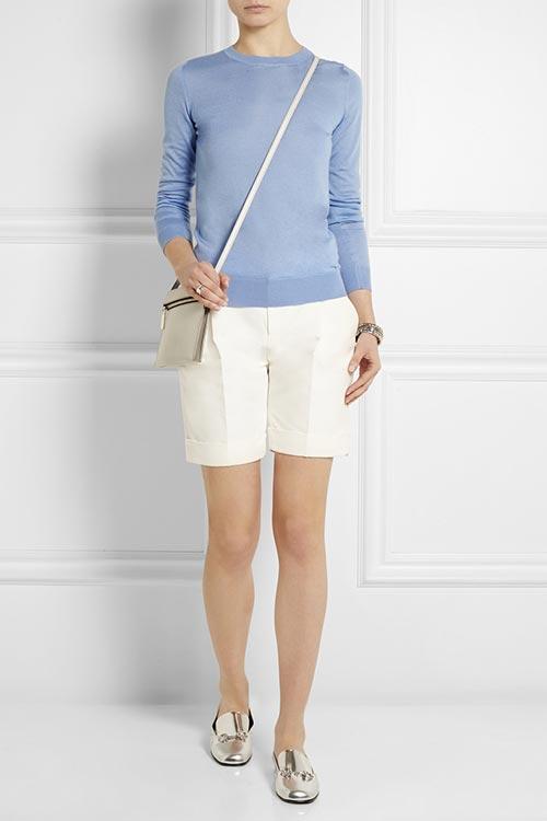 женские шорты для офиса