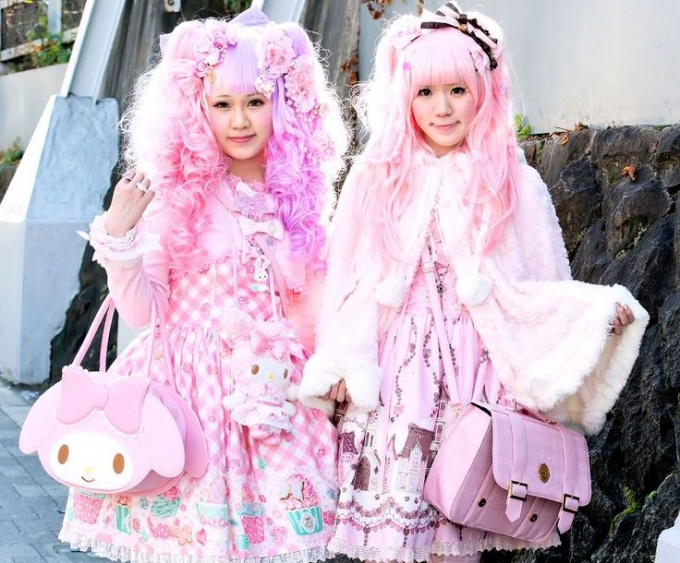 Как одеваться в стиле Sweet Lolita