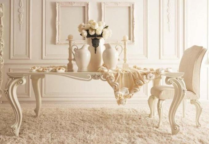 Белый дом - белый цвет в интерьере