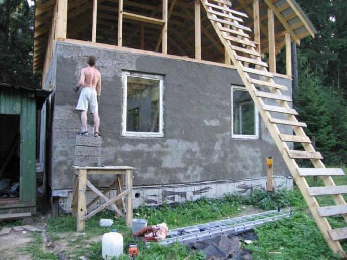 Арболит в частном строительстве