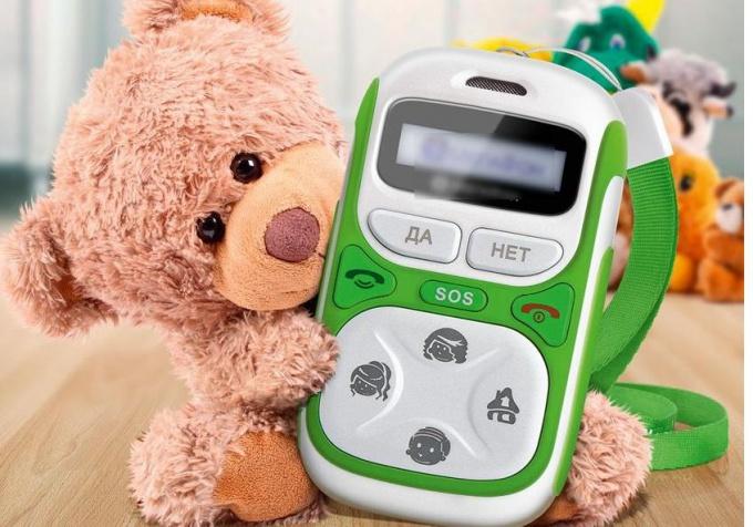 Какой сотовый телефон купить дошкольнику