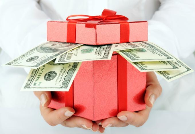 Как правильно дарить деньги