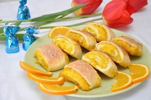 Мягкое апельсиновое печенье «Лакомка»