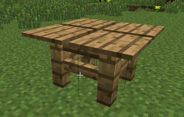 Как сделать простой и зачарованный столы в игре «Майнкрафт»