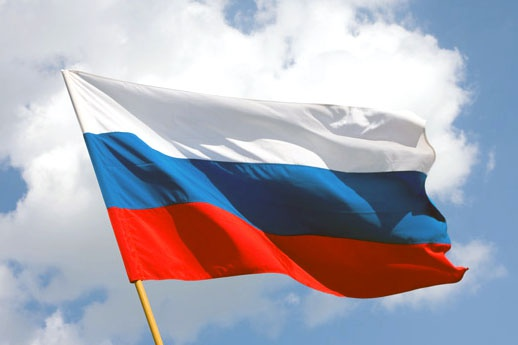What do the colors of the Russian flag