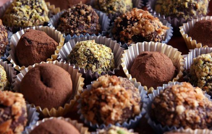 Шоколадные трюфели своими руками