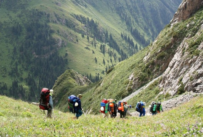 The rules of the organization of hiking