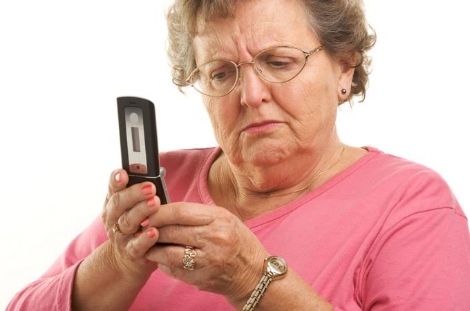 Мобильный телефон для старого человека. Какой приобрести?